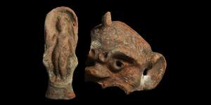 Terracotta Figure Group