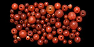 Carnelian Bead Group