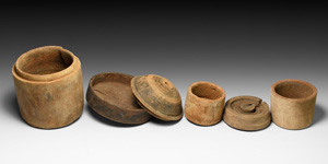Wooden Pyxis Collection