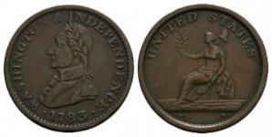 USA - 1783 - Washington Token Cent
