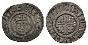 Richard I - London / Ricard - Short Cross Penny