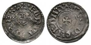 Edward the Confessor - Canterbury / Sired - Bust Facing Penny