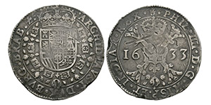 Spanish Netherlands - Philip IV - 1633 - Patagon