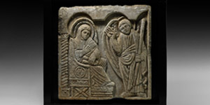 Carved Relief Panel