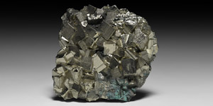 Pyrite Crystal Cube Display