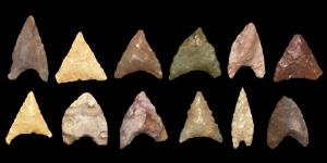 Pre-Dynastic Naqada Egyptian Arrowhead Group