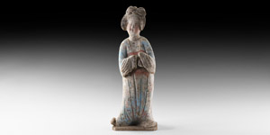 Tang Courtly Lady Figure