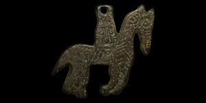Horse and Rider Pendant