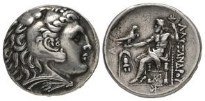 Macedonia - Alexander III (the Great) - Zeus Tetradrachm