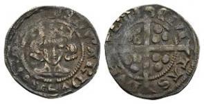 Edward III - Durham - Pre Treaty Crozier Penny