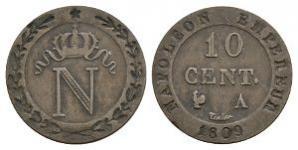 France - Napoleon - 1809 - 10 Centimes