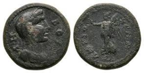 Caria - Antioch ad Maeandrum - Boule and Nike Bronze