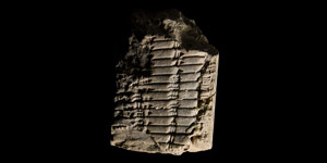 Old Babylonian Mathematical Tablet