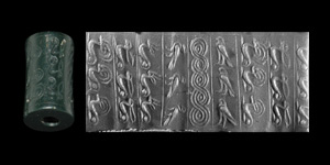 Cylinder Seal with Animals