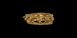 Gold Ring with Annulets