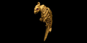 Gold Figure of a Phoenix