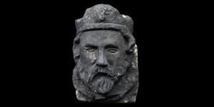 Crowned Edward III Corbel