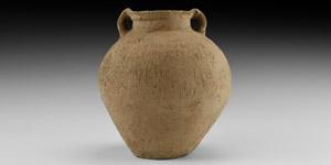 Comb-Decorated Amphora