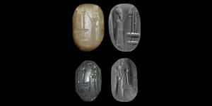 Old Babylonian Stamp Seal Pair