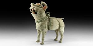 Han Guardian Dog Figurine