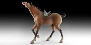 Tang Saddled Horse
