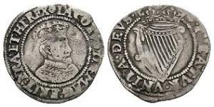 Ireland - James I - Sixpence