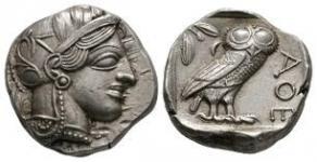 Attica - Athens - Owl Tetradrachm