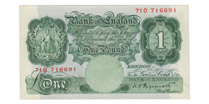 Bank of England - 1928-1948 ND Issue - £1