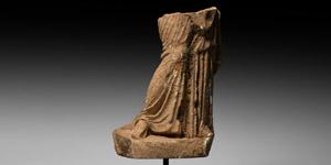 Female Statue Fragment