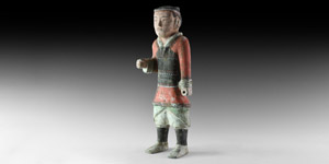 Han Soldier with Lamellar Armour