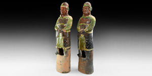 Song Military Figure Pair