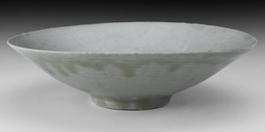 Song Dish with Floral Decoration