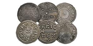 Ceolwulf I to Aethelred II - Bigbury Mint Replica Pennies [6]