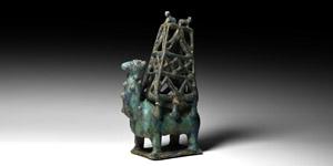 Glazed Camel Figure