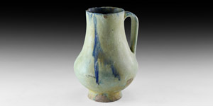 Glazed Persian Jug