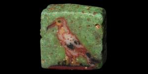 Glass Ibis Inlay