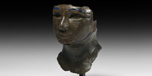 Bronze Pharaoh Head