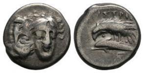 Istros - Dolphin and Eagle Drachm