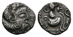 Corisolites - Swans Neck and Banner 1/4 Stater