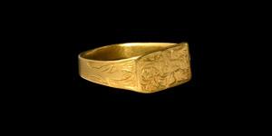 Gold Iconographic Ring