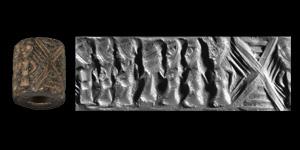 Cylinder Seal with Presentation Scene