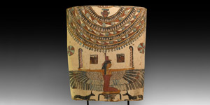 Painted Cartonnage with Isis
