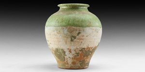 Tang Green Glazed Jar
