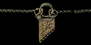Entwined Dragons Pendant Necklace