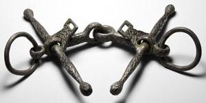 Silver Interlaced Dragon Horse Bit