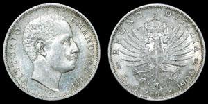 World Italy - Vittorio Emanuel III - 1905R - 1 Lira