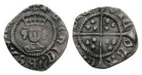 Henry VI - London - Pinecone Mascle Halfpenny