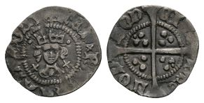 Henry VI - London - Cross Pellet Halfpenny