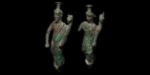 Fortuna Statuette Pair