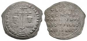 Basil II and Constantine VIII - Miliaresion